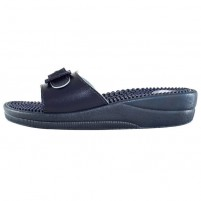 Papuci medicinali Scholl - new massage navy blue