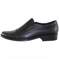 Pantofi eleganti piele naturala barbati negru Pieton E-ADI-Negru