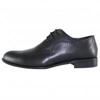 Pantofi eleganti piele naturala barbati negru Pieton SIR-022-Negru