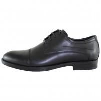 Pantofi eleganti piele naturala barbati negru Pieton SIR-099-Negru