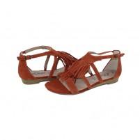 Sandale piele naturala dama maro s.Oliver 5-28112-26-591-Brick