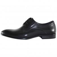 Pantofi eleganti piele naturala barbati negru Saccio A581-03A-Black
