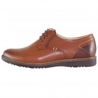 Pantofi piele naturala barbati maro Vander SIR-135-Maro