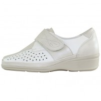 Pantofi piele naturala dama bej Waldlaufer relax confort ortopedic 860302-260-621-Moni