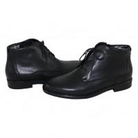 Ghete piele naturala barbati negru Waldlaufer 319803-817-001-Henry