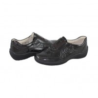 Pantofi piele naturala dama maro Waldlaufer relax confort ortopedic 312502-143-216-Hesna