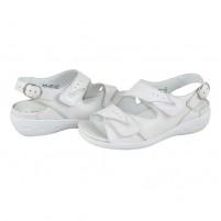 Sandale Waldlaufer - kara off white, din piele naturală