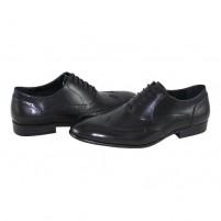 Pantofi eleganti piele naturala barbati negru Saccio A581-08A-Black