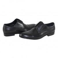 Pantofi eleganti piele naturala barbati negru Saccio A584-21A-Black