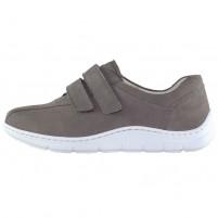 Pantofi piele naturala dama maro Waldlaufer relax confort ortopedic 399304-191-088-Hassi