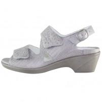 Sandale piele naturala dama gri Waldlaufer 653002-133-070-Kirbie