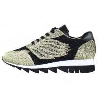 Pantofi dama negru auriu Gerry Weber Shoes G32318-867-811-Gold-Black