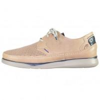 Pantofi piele naturala barbati bej Fluchos relax confort Jones-F0461-Taupe-Marino