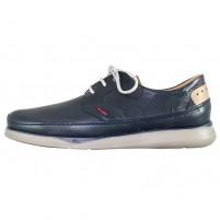Pantofi piele naturala barbati bleumarin Fluchos relax confort Jones-F0460-Marino-Topo