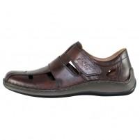 Pantofi piele naturala barbati maro Rieker relax confort 05269-25-Brown