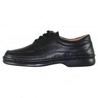 Pantofi piele naturala barbati negru Gitanos 220-Negru