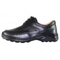 Pantofi piele naturala barbati negru Gitanos 714S-Negru