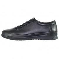 Pantofi piele naturala barbati negru Nicolis 203519-Negru