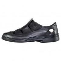 Pantofi piele naturala barbati negru Nicolis 70864-Negru