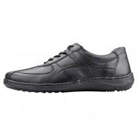 Pantofi piele naturala barbati negru Waldlaufer relax confort ortopedic 478002-174-001-Herwig-Schwarz