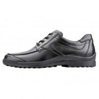 Pantofi piele naturala barbati negru Waldlaufer relax confort ortopedic 483000-174-001-Hendrik-Schwarz