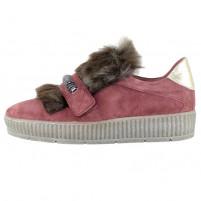 Pantofi piele naturala dama bordo Mjus 67-313-3-30109-Rose
