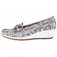 Pantofi piele naturala dama gri Ara relax confort 12-30937-Mamba-Street