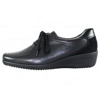 Pantofi piele naturala dama negru Ara relax confort 12-30648-Schwarz