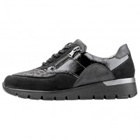 Pantofi piele naturala dama negru Waldlaufer relax confort ortopedic 626K02-400-001-K-Ramona-Schwarz