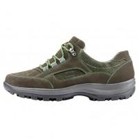 Pantofi piele naturala sport dama verde Waldlaufer relax confort ortopedic 471000-716-014-Holly-Schiefer-Fichte