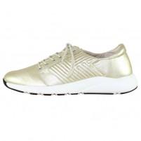 Pantofi piele naturala dama auriu Alpina 16255-Gold