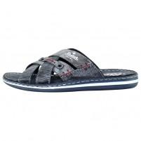 Papuci barbati albastru Rieker 21062-15-Blue