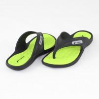 Papuci de strand Rider Black-Green