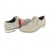 Pantofi eleganti piele naturala barbati bej s.Oliver 5-13203-24-Sand