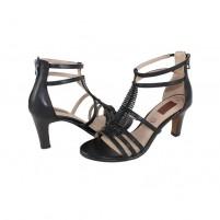 Sandale piele naturala dama negru s.Oliver 5-28307-24-Black