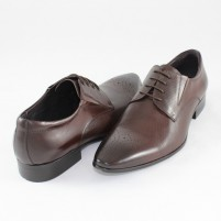 Pantofi eleganti piele naturala barbati maro Saccio 130820-R04B-Brown