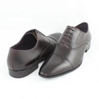 Pantofi eleganti piele naturala barbati maro Saccio W230805B-Brown