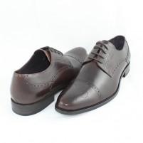 Pantofi eleganti piele naturala barbati maro Saccio W231712B-Brown