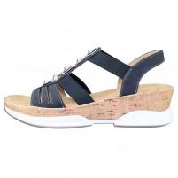 Sandale dama bleumarin Rieker V7771-14-Blue