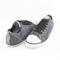 Pantofi sport S.Oliver Dark Grey din material textil