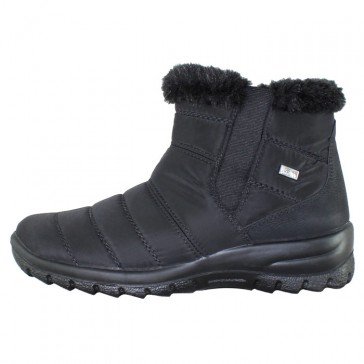 Ghete dama negru Rieker iarna imblanite Z7164-00-Black
