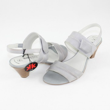 Sandale piele naturala dama gri Marco Tozzi 2-2-28214-22-221-Grey-Antic