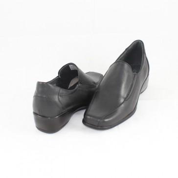 Pantofi piele naturala dama negru Nicolis 17860-Negru