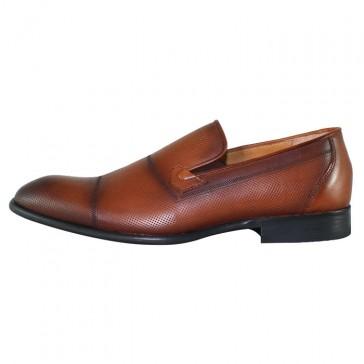 Pantofi eleganti piele naturala barbati maro Nevalis 133-Maro