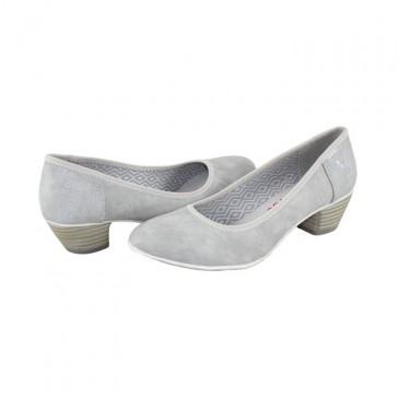 Pantofi cu toc s.Oliver - lt grey