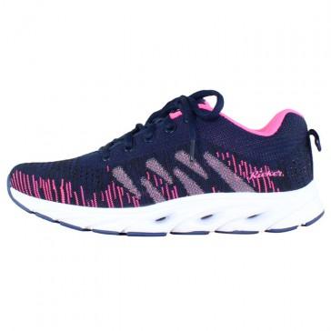 Pantofi sport dama bleumarin Rieker N9300-14-purple-combination