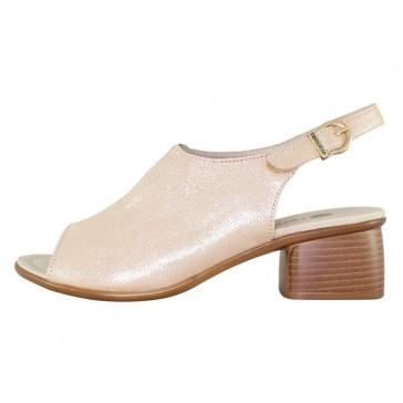 Sandale piele naturala dama roz Remonte toc mediu R8753-31-Rosa