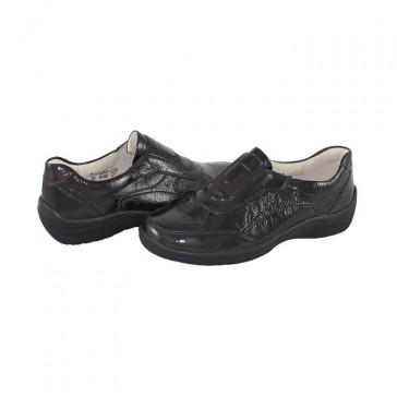 Pantofi Waldlaufer - brown, din piele naturală