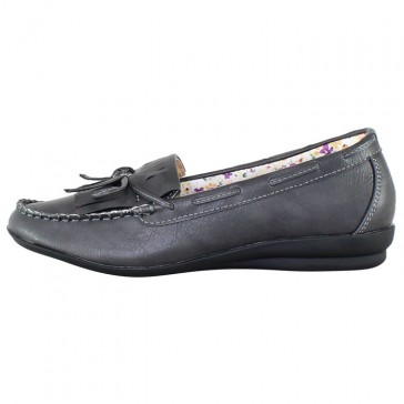Pantofi dama gri Mae & Mathilda 18268-Grau