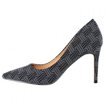 Pantofi dama negru Azarey toc mediu 459D720-Negro